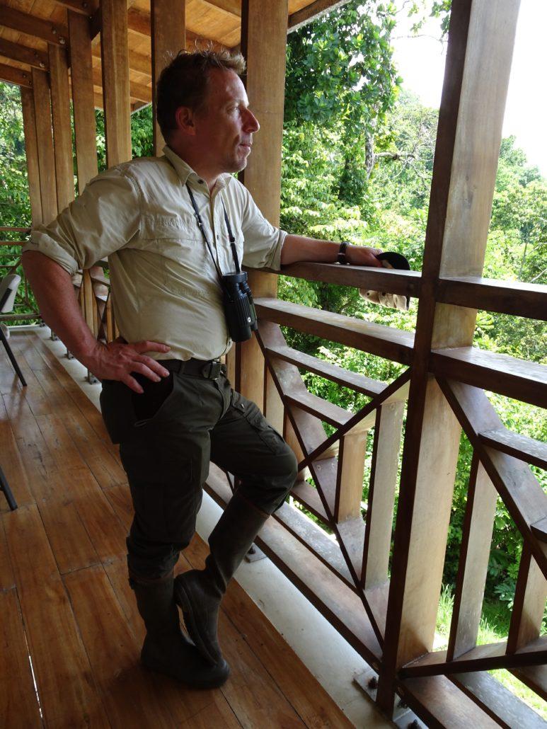 ecoloog Patrick Jansen Panamakanaal eiland