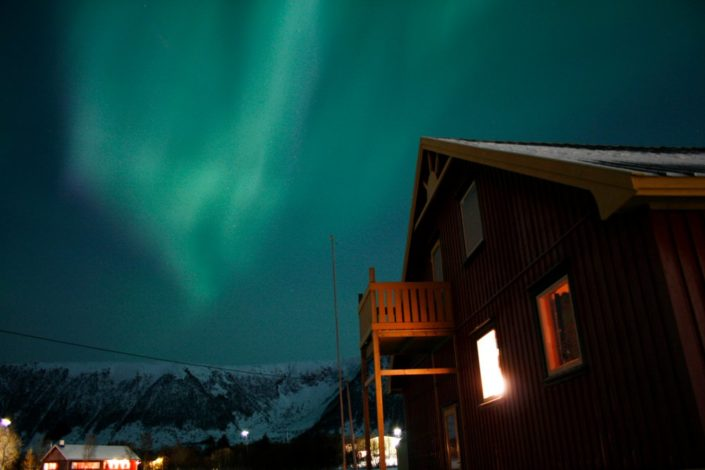 noorderlicht poollicht Lofoten Noorwegen